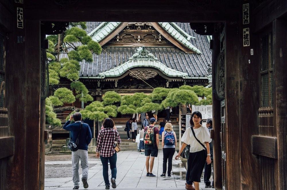Japonia świątynia Shimabata